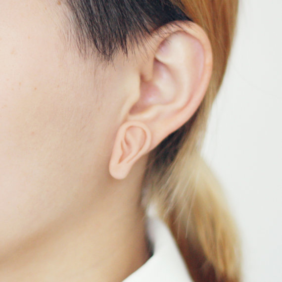 This Is Just TOO Meta: Ear Earrings