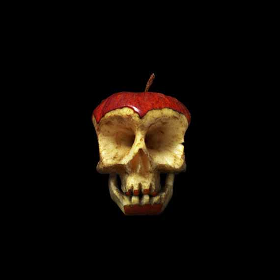Scary Healthy Food: Fruit & Veggie Skulls