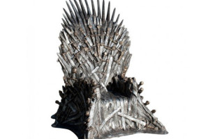 The Game of Thrones Iron Throne IRL