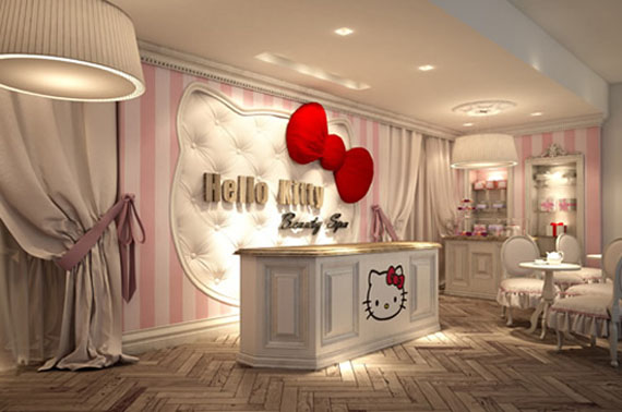 World's First Hello Kitty Beauty Spa