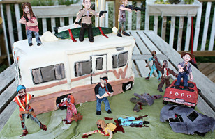 Mmmm Caaaaake: Walking Dead Birthday Cake