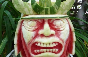 Deliciously Awesome Watermelon Sculptures