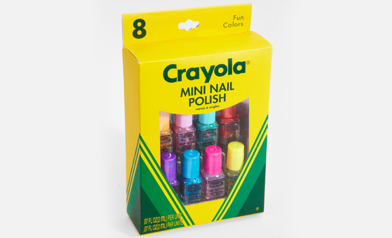 Get Your Nails Did: Crayola Nail Polish