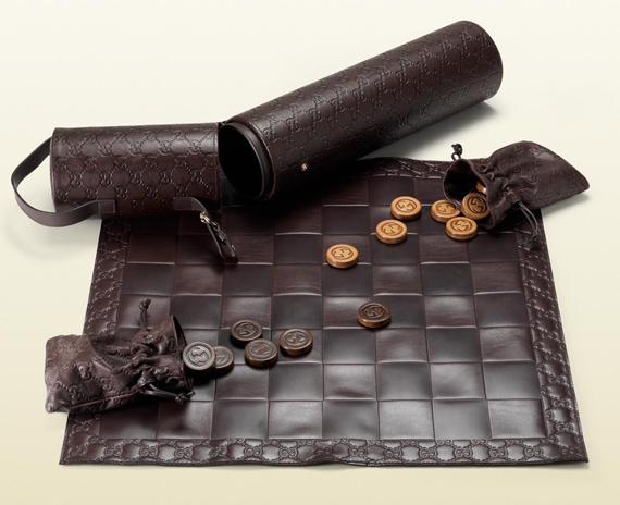 This Is Why You're Fancy: Gucci Checkers Set