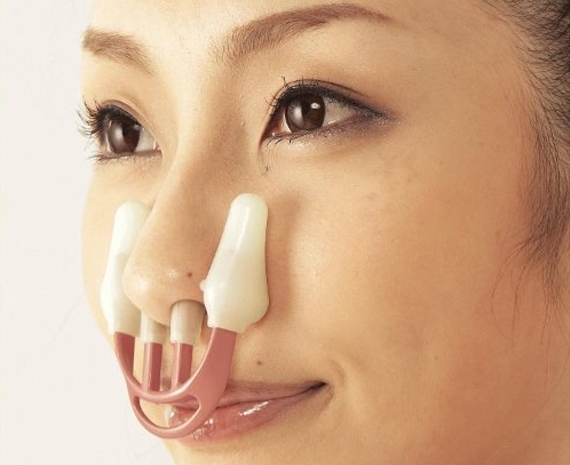 how to make your nose look smaller and straighter