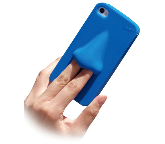 Digging For Texts: Nose iPhone Case