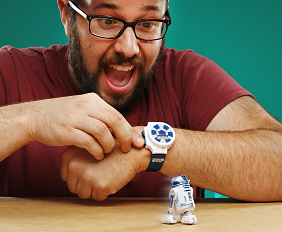 Star Wars Swag: R2-D2 RC Watch