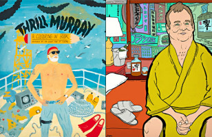 Thrill Murray – Bill Murray Coloring Book