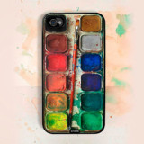 Watercolor Set iPhone Case