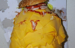 Dangerously Cheesy: Whopper With 1000 Slices Of Cheese