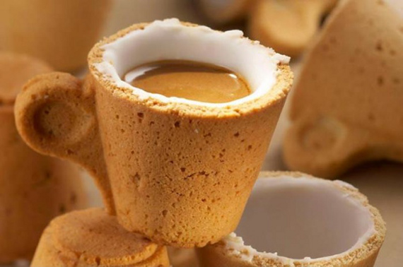 Breakfast & Dessert: The Cookie Coffee Cup