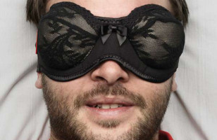 For The Dirty Dreamer: Brassiere Sleeping Mask
