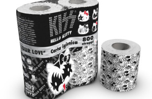 Hello Kitty + KISS + Toilet Paper = LOLWUT