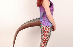 Because You're A Mutant: Wearable Tails