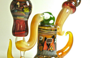 Awesome Super Mario Bros Glass Pipe