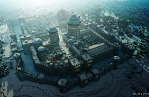 A Song of Fire And Blocks: Westeros Recreated In Minecraft