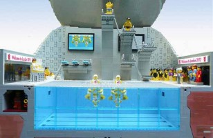 LEGO Olympics 2012 Aquatic Center