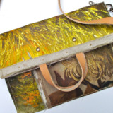 Oil Paintings Turned Handbags