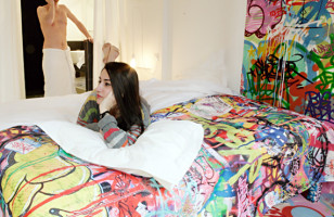 Graffitied Accommodations That Don't Include Sleeping On The Streets