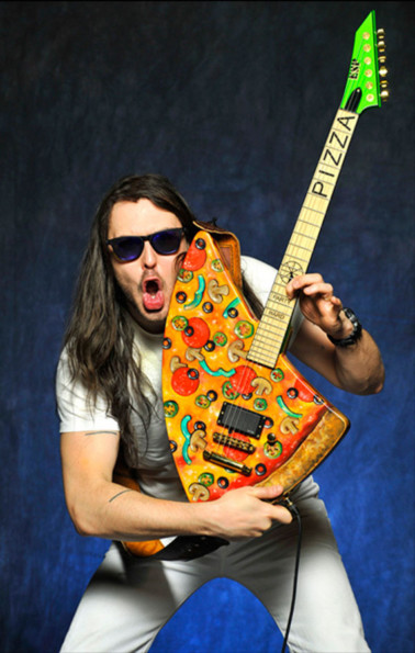 The Pizza Guitar Looks Good Enough To Eat
