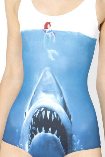 Ariel, NOOOO!: Shark Vs. Mermaid Swimsuit