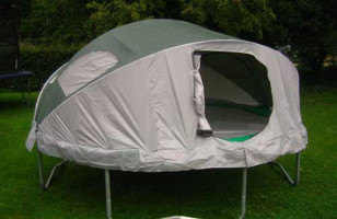 Make Camping Fun With A Trampoline Tent