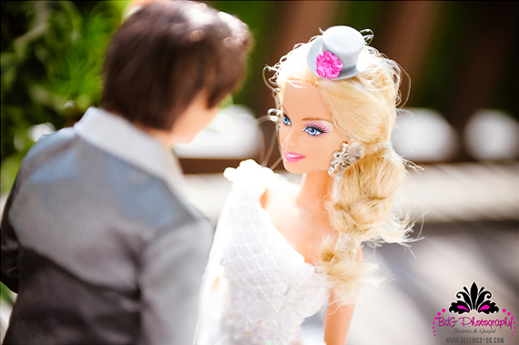 Finally! Meet Mr. & Mrs. Ken and Barbie