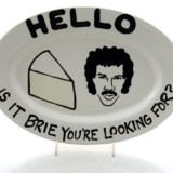 Hello Is It Brie You're Looking For? Cheese Plate