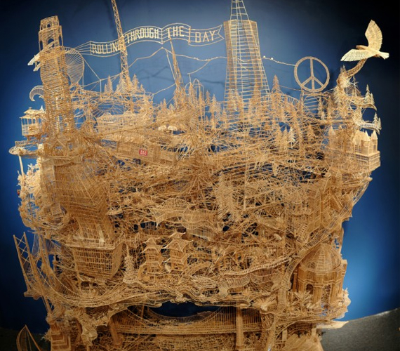 Interactive Sculpture Of San Francisco 35 Years In The