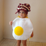 Breakfasty Bacon and Eggs Baby Costume