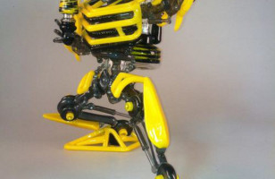 Transform and Smoke out: Bumblebee Pipe