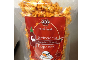 Sriracha Popcorn — Get In My Mouth!