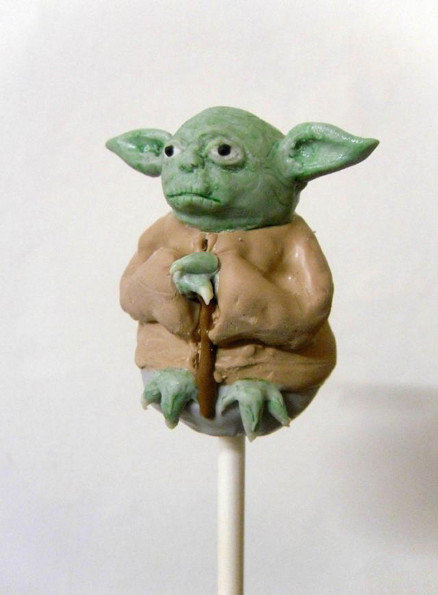 DO WANT: Star Wars Cake Pops