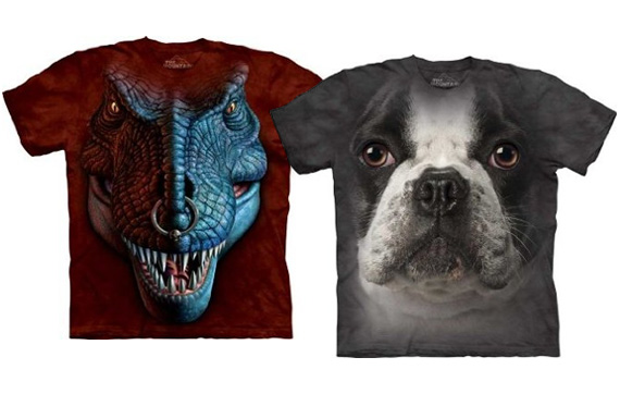 Realistic Animal Tees Amp Up Your Scary