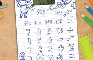 The DIY Calculator Gives You An Excuse To Draw In Class