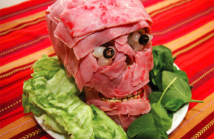Creepy Cuisine: DIY Meat Head Recipe