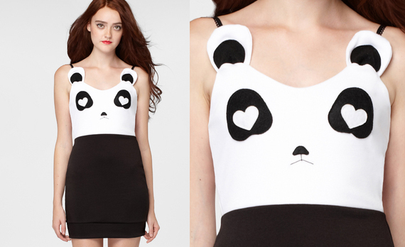 Panda Dress Is Unbearably Cute