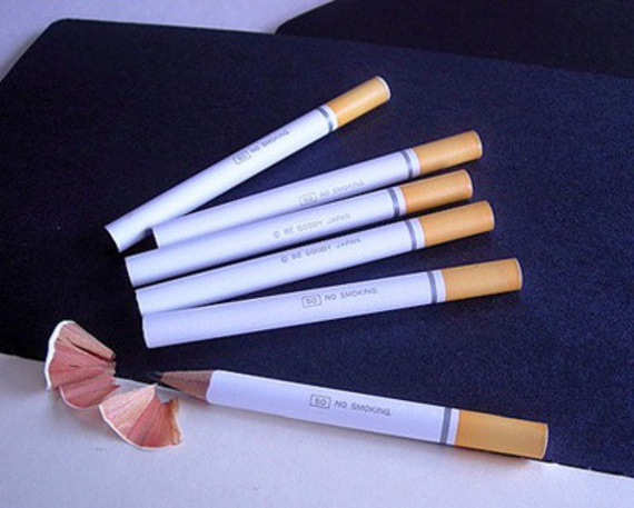 Just Say No: Cigarette Pencils