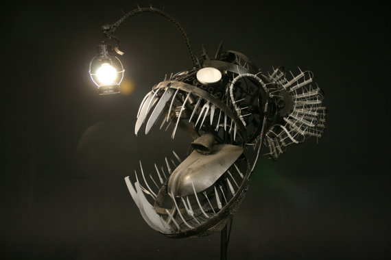 Bad Ass Deep Sea Angler Fish Lamp