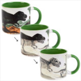 Heat Activated Disappearing Dino Mug