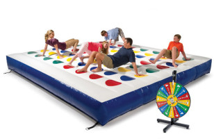 Bouncy Funtimes: Inflatable Outdoor Twister