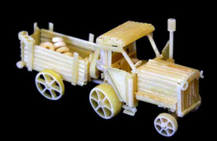 Pasta Creations: Mini Models Made With Noodles