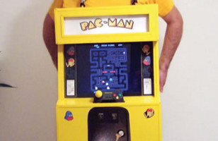 Homemade Playable Pac-Man Costume