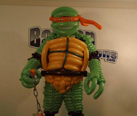Awesome Costumes Made From Balloons