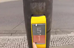 Awesome Traffic Light Game in Germany