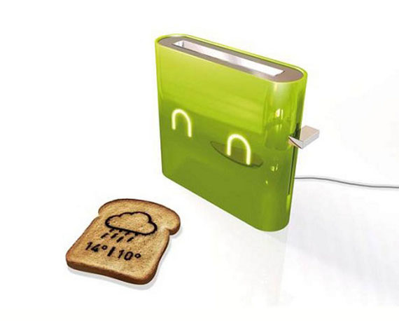 Toaster Toasts Weather On Your Toast