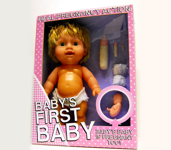 Move Over Chucky, Pregnant Baby Is Now The Most WTF? Doll Ever