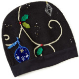Recycled Holiday Sweater Hat