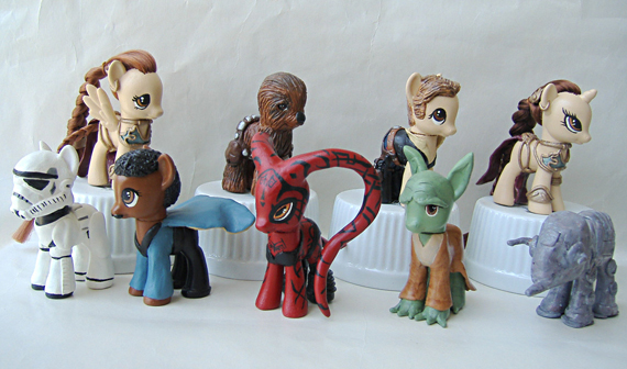What Every Girl Wants: My Little Star Wars Pony