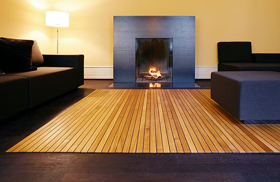 A Wood Floor That Rolls Up Like A Rug Incredible Things